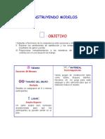 CONSTRUYENDO MODELOS