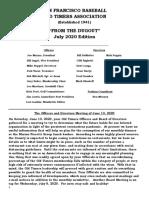 Sf Bota Newsletter July 2020