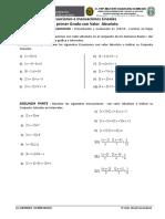 Ecuac y Inec. con Valor Absoluto  - Taller de Reforzamiento