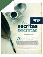 As escritas secretas