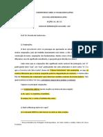 COMENTÁRIOS SOBRE O VOCABULÁRIO LATINO