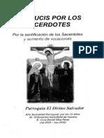 viacrucis por los sacerdotes