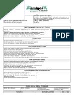 TDR Analista Administrativo Financiero