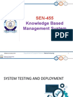 SEN-455_KBMS_Lecture 08-System Testing and Deployment