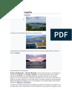 etnografia puerto marques by romero