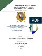 GEOMECÁNICA APLICADA AL DEBILITAMIENTO ESTRUCTURALMENTE CONTROLADO(METODO DEL EQUILIBRIO LÍMITE)