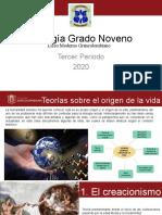 Teorías del origen de la vida.pptx