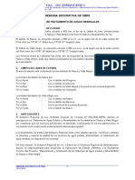 MEMORIA DE OBRA PLANTA AGUAS RESIDUALES