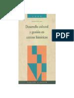 Desarrollo cultural y gestión de centros históricos - FLACSO.pdf