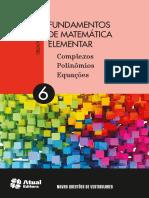 Fundamentos da Matemática Elementar 4, Determinantes e Sistemas — Gelson Iezzi e Samuel Hassan.pdf