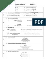 FORMULARIO -SOLUCIONES -QUÍMICAS