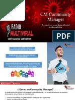 community manager mv
