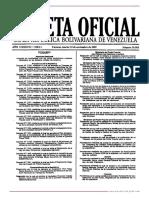 GO 39303 Reglamento de la Ley de Silos, Almacenes y Depósitos Agrícolas
