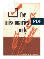 for_missionaries_only