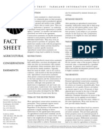 Agricultural Conservation Easements Fact Sheet