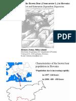 Brown Bear (ursos arctus L.) in Slovenia, 2002 ppt