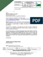 Respuesta a oficio  GD-F-007 V.12