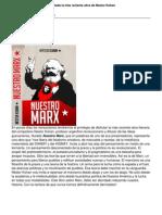 Nuestro Marx Nestor Kohan