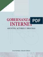 Libro Gobernanza de Internet