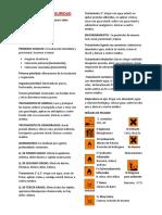 BIOSEGURIDAD Y ANÁLISIS DE SUSTANCIAS SOLIDAS