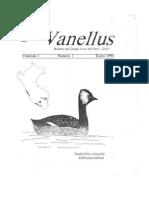 Vanellus Primer Numero