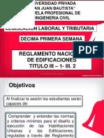 EDIFICACIONES III . I - III.2