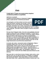 Sobre o riso - Marcelo Gleiser - ciência - física - astrofísica