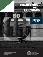 Cuadernos de Economía - Structural Chance in Latin America