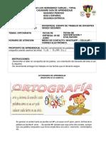 6. Guía #  6 Español   ORTOGRAFÍA
