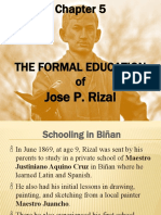 RIZAL_CHAP 05_Formal Education of Jose Rizal_NO VIDEOS_LMS 2020