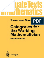 Saunders Mac Lane - Categories for the Working Mathematician-Springer (1998)