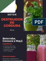Detox Destruidor de Gordura