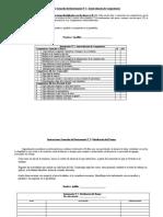 Instrucciones Generales del Instrumento Nº 1