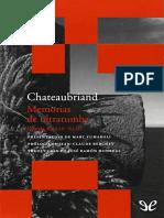 Memorias de ultratumba (libros XXXIV-XLII) - Francois-Rene de Chateaubriand.epub