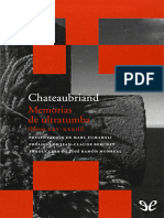 Memorias de ultratumba (libros XXV-XXXIII) - Francois-Rene de Chateaubriand.epub