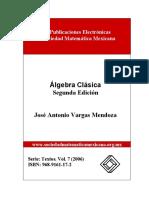 algebra clasica de la unam.pdf