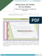 Relaciones de Orden en los Reales. Representación Grafica y Analítica de Intervalos_0