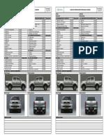 Check list vehiculo liviano