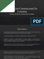 Nociones de derecho - Jurisdicción Constitucional En Colombia