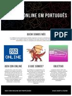 GenCon in Portuguese / Gen Con em língua portuguesa