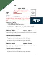 FORMATO FP01- CV