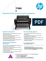 BROCHURE PLOTER HP T 1500