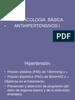 Antihipertensivos I