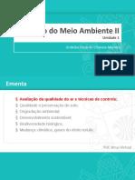 Avaliação da Qualidade do Ar e Técnicas de Controle.pptx