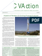 Fall 2007 CVAction Newsletter ~ Carpinteria Valley Association