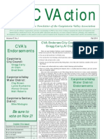 Fall 2010 CVAction Newsletter ~ Carpinteria Valley Association