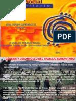 presentación..TRABAJO SOCIAL COMUNITARIO.2 - soraya - 2010