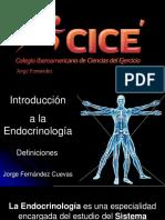 1 Introducción a la Endocrinología Sep 2019 Ver. Corta