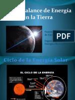 Flujo y balance de energía en la tierra-Fuentes Renovables de Energía