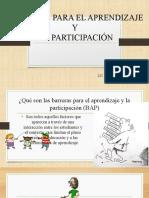 barreras para el aprendizaje y PIAR